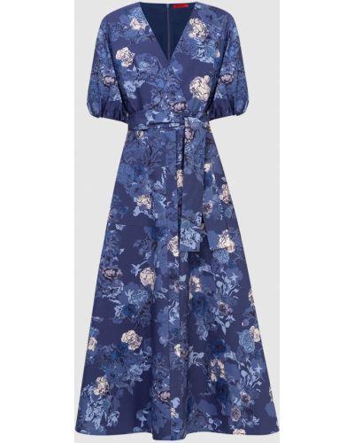 Платье макси - синее Max & Co