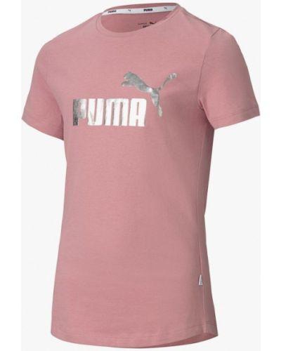 Розовая футболка Puma