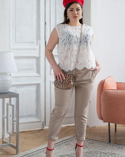 Летние брюки зауженные стрейч Eliseeva Olesya