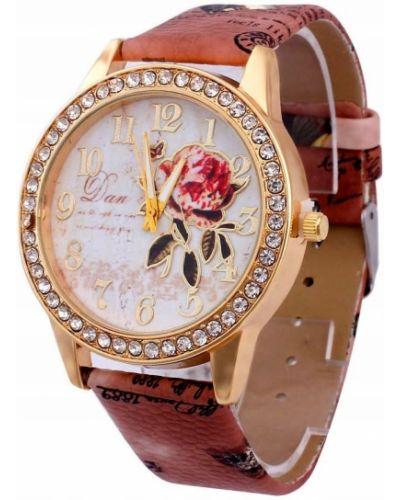 Klasyczny złoty zegarek pozłacany Geneva
