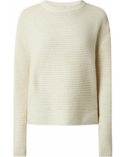Sweter bawełniany - beżowy Tom Tailor Denim