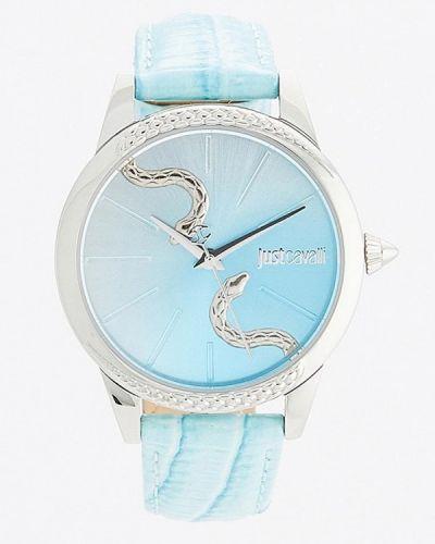 Голубые кварцевые часы Just Cavalli