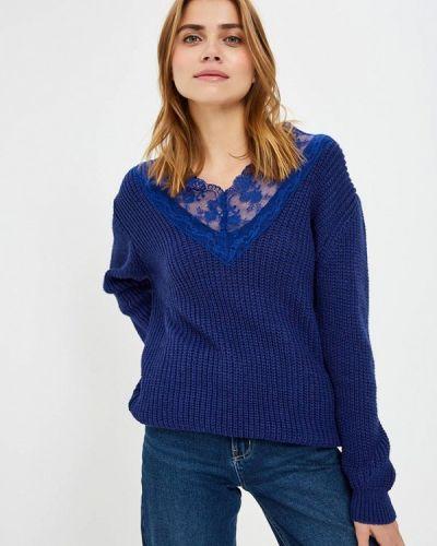 Пуловер итальянский синий Imperial