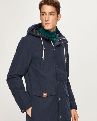 Куртка с капюшоном - синяя Izod