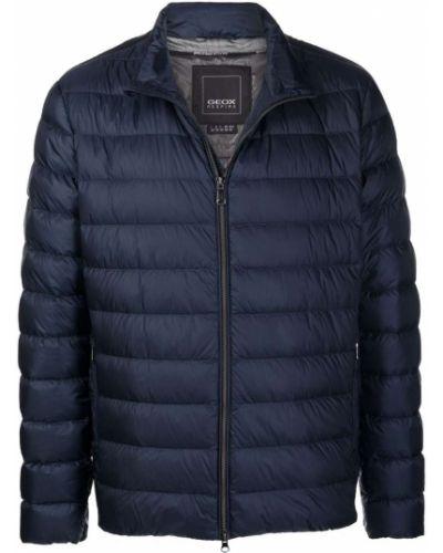 Синяя куртка из полиэстера Geox