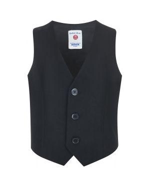 Жилетка костюмная серая Button Blue
