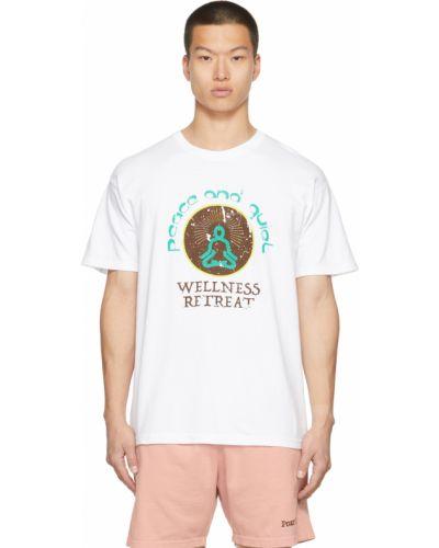 Biała t-shirt krótki rękaw Museum Of Peace And Quiet