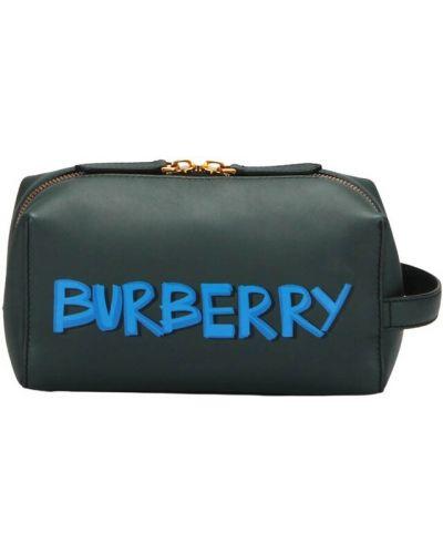 Zielona torebka Burberry Vintage