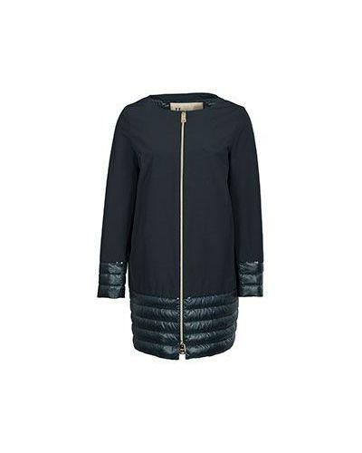 Зимняя куртка демисезонная синий Herno