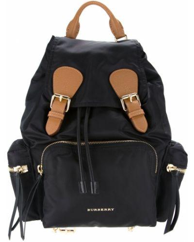 Кожаная сумка с пряжкой сумка-рюкзак Burberry