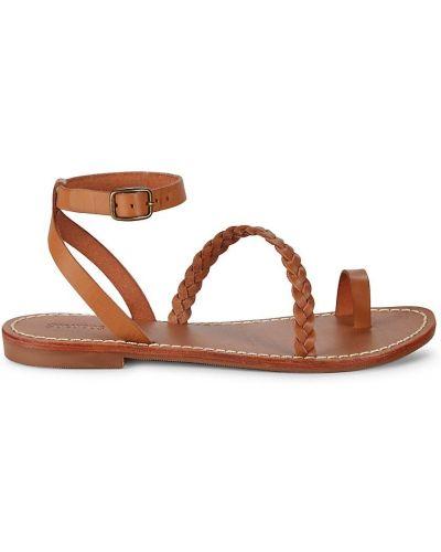 Sandały peep toe Soludos