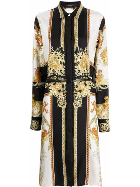 Платье рубашка - белое Versace