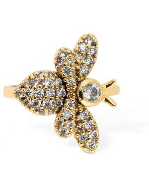 Szare złote kolczyki ze złota z cyrkoniami Camila Carril