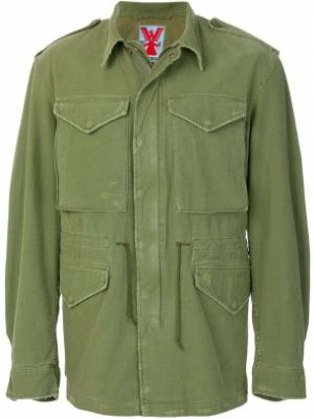 Zielona kurtka bawełniana Adaptation