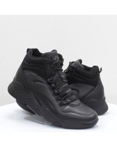 Кожаные ботинки - черные Mida