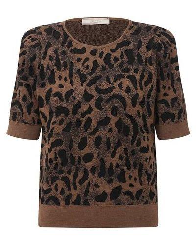 Шерстяной пуловер - коричневый Tak.ori
