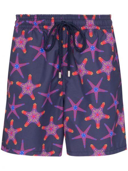 Шорты с карманами фиолетовый Vilebrequin