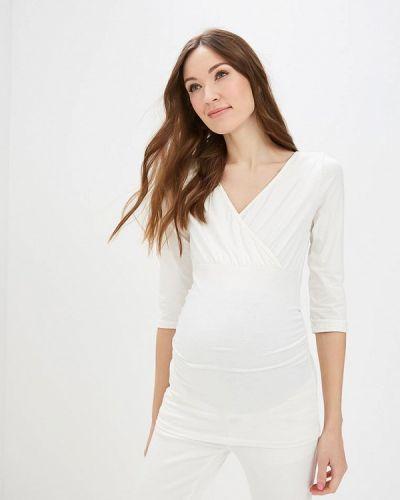 Белый лонгслив Dorothy Perkins Maternity