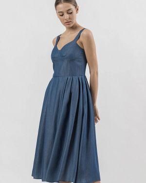 Платье платье-сарафан синее Raimaxx
