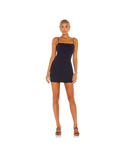 Синее нейлоновое платье мини Susana Monaco