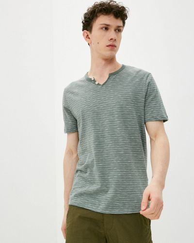 Зеленая футболка с короткими рукавами Produkt