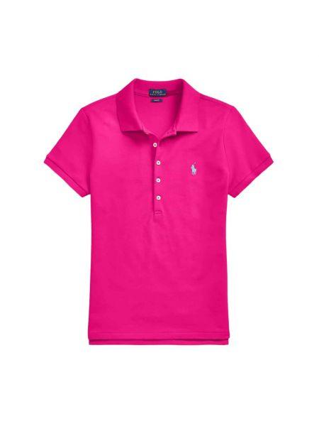 Różowa koszulka krótki rękaw Polo Ralph Lauren