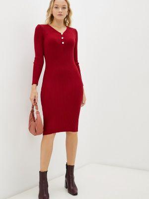 Красное демисезонное платье Pink Summer