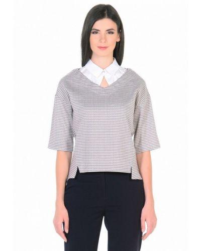 Блузка с коротким рукавом белая Dlys