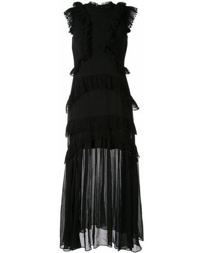 Платье с оборками без рукавов Thurley