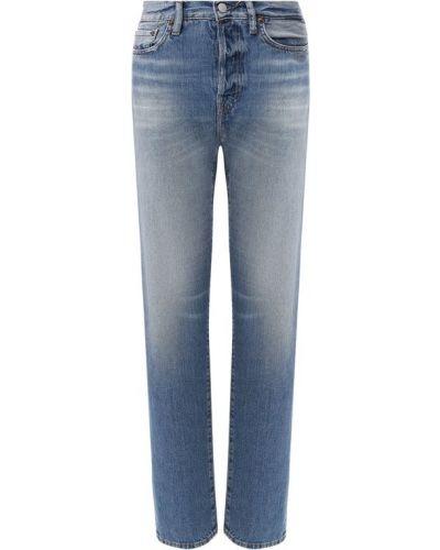 Прямые джинсы с эффектом потертости Acne Studios