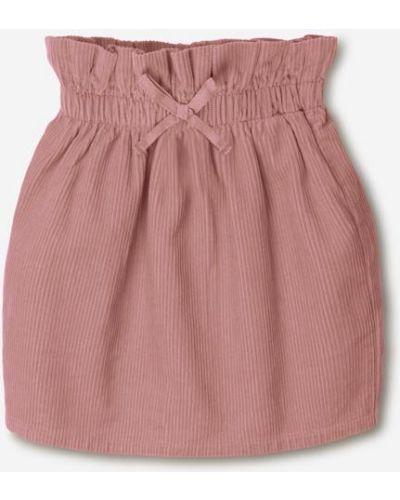 Джинсовая юбка - розовая Gloria Jeans