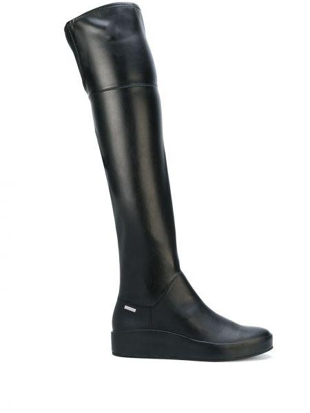 Wysoki buty czarne Calvin Klein
