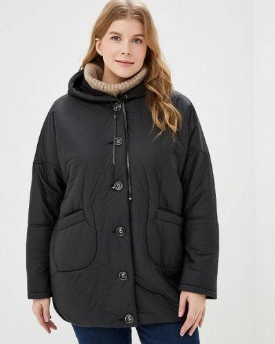 Утепленная куртка демисезонная черная Zar Style