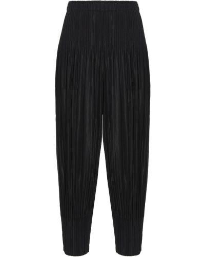 Spodnie - czarne Issey Miyake
