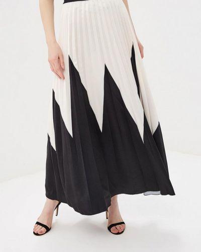Плиссированная юбка итальянский бежевый Rinascimento