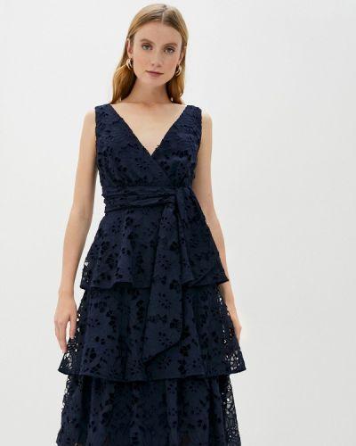 Синее вечернее платье True Decadence