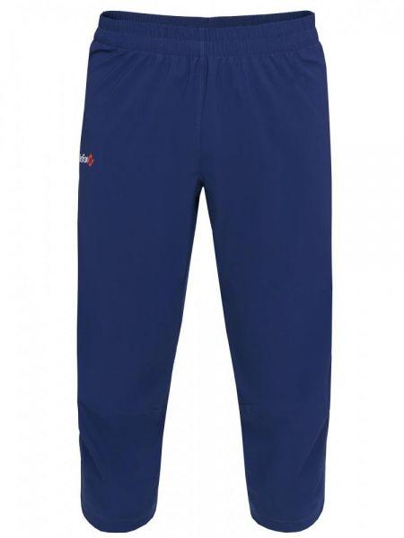 Синие спортивные спортивные шорты с поясом Red Fox