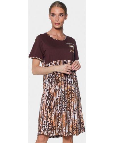 Платье - коричневое Vienetta