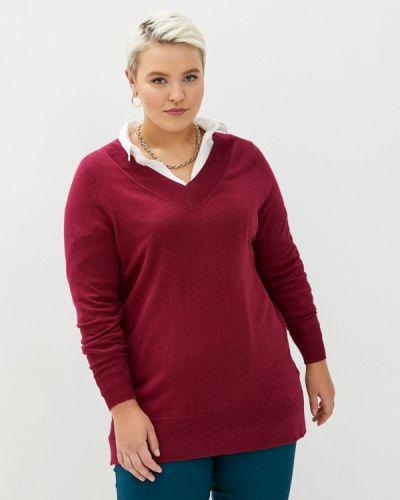 Бордовый пуловер Evans
