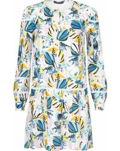 Платье из вискозы весеннее Trussardi Jeans