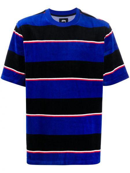 Koszula krótkie z krótkim rękawem z paskami w paski Stussy