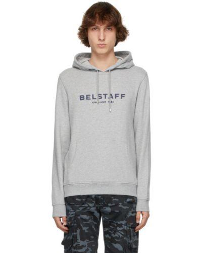 Bluza długa z kapturem z długimi rękawami Belstaff