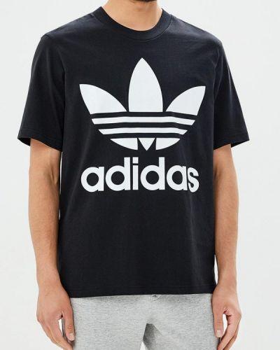 Черная футболка Adidas Originals