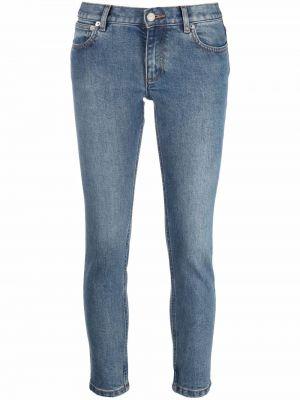 Укороченные джинсы - синие A.p.c.