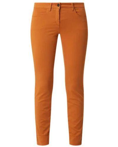 Brązowe spodnie Luisa Cerano