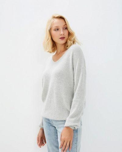 Серый пуловер 2018 Baon