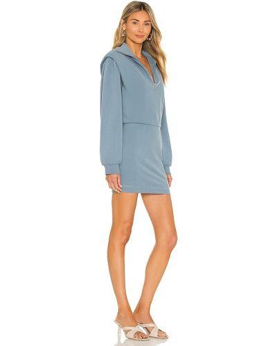 Niebieska sukienka bawełniana Saylor