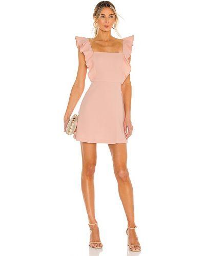 Розовое вечернее платье на бретелях на молнии Bcbgeneration
