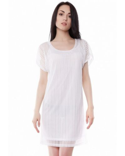 Бежевое повседневное платье Vergans