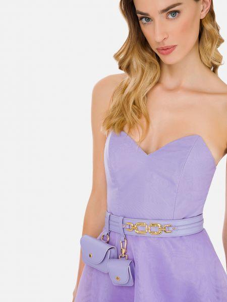 Ремень - фиолетовый Elisabetta Franchi